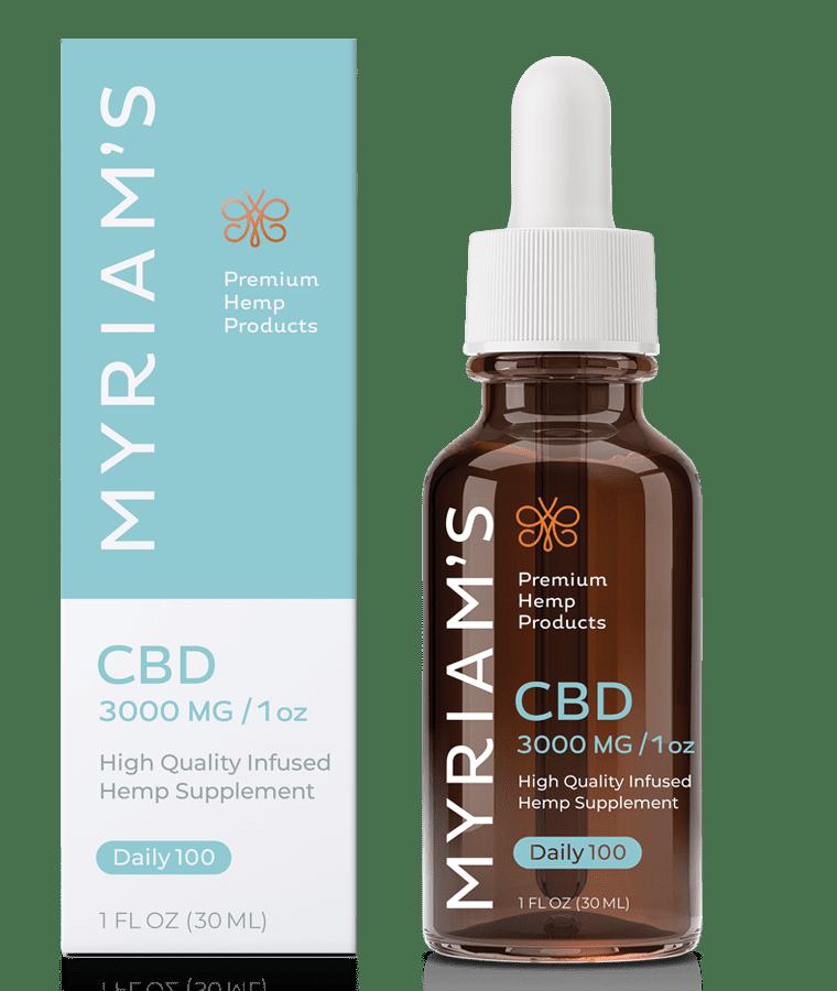 100 mg Premium CBD Tincture