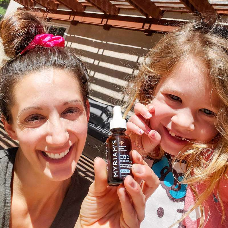 Choose Myriam's Hemp Natural CBD Products